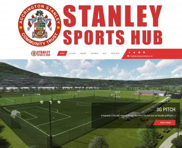New Stanley Sports Hub Website Launched!