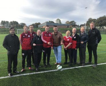 New 3G Pitch Opens at the Stanley Sports Hub